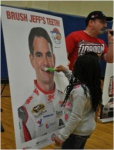 Brush Jeff's Teeth!